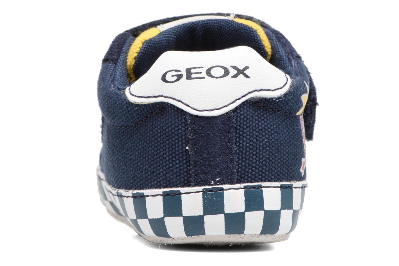Sneakers Geox B IAN B II Blauw rechts