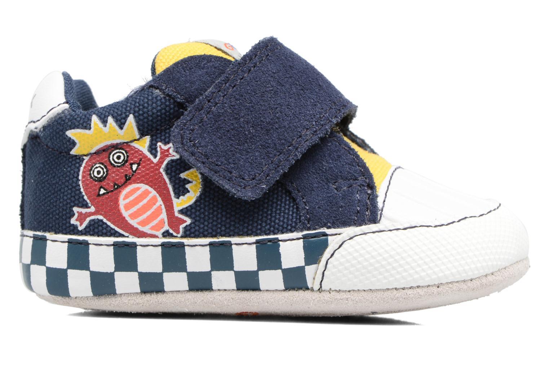 Sneakers Geox B IAN B II Blauw achterkant