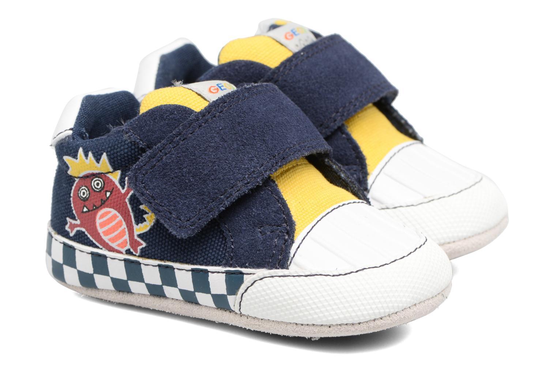 Navy/yellow Geox B IAN B II (Bleu)