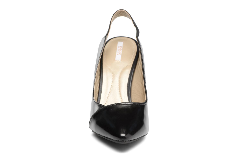 Escarpins Geox D CAROLINE A II Noir vue portées chaussures