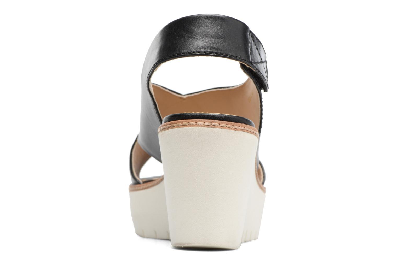 Sandales et nu-pieds Geox D DOMEZIA A Noir vue droite