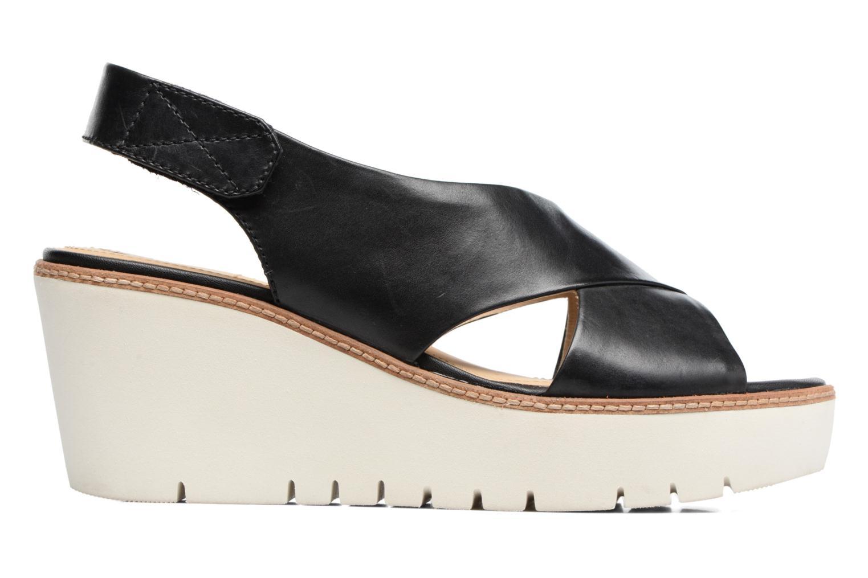 Sandales et nu-pieds Geox D DOMEZIA A Noir vue derrière