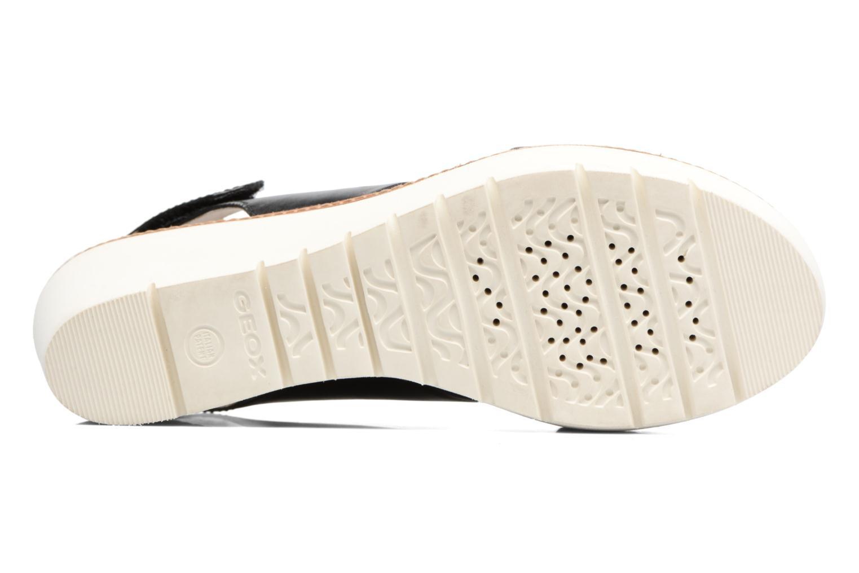 Sandales et nu-pieds Geox D DOMEZIA A Noir vue haut