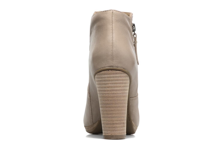 Bottines et boots Geox D KALI A Beige vue droite