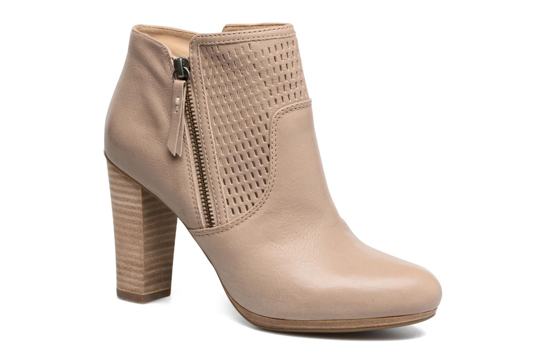 Bottines et boots Geox D KALI A Beige vue détail/paire