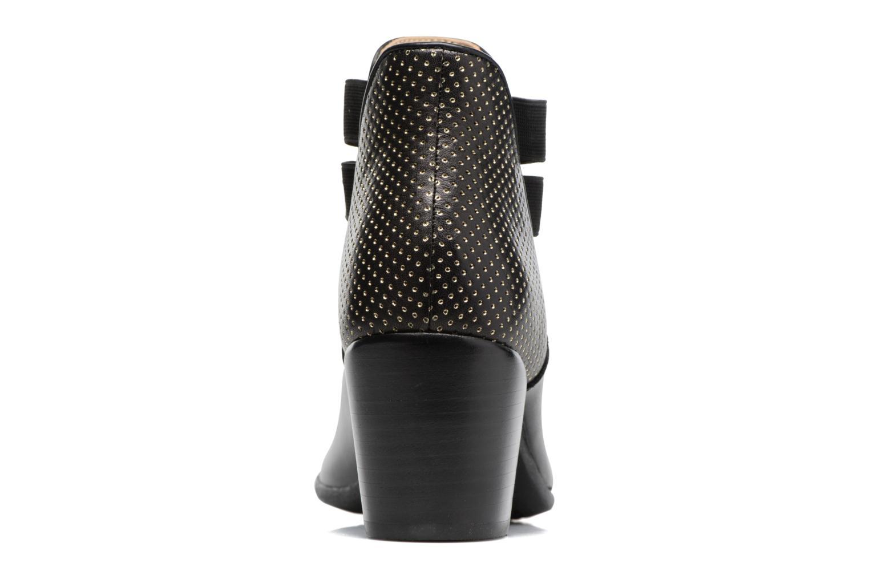 Bottines et boots Geox D LUCINDA B Noir vue droite