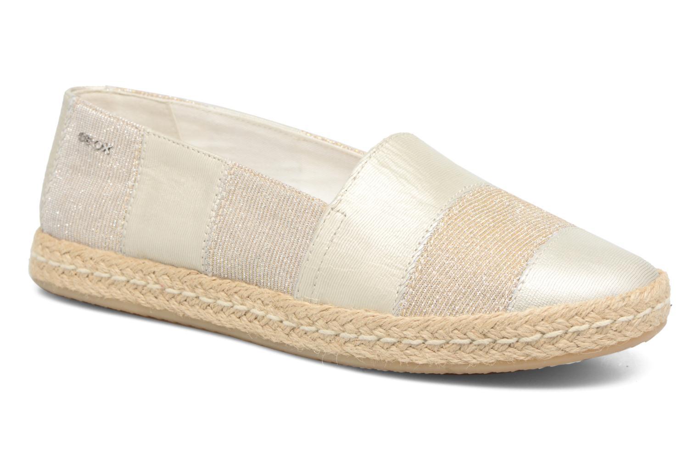 Zapatos de mujer baratos zapatos de mujer Geox D MODESTY B (Oro y bronce) - Alpargatas en Más cómodo