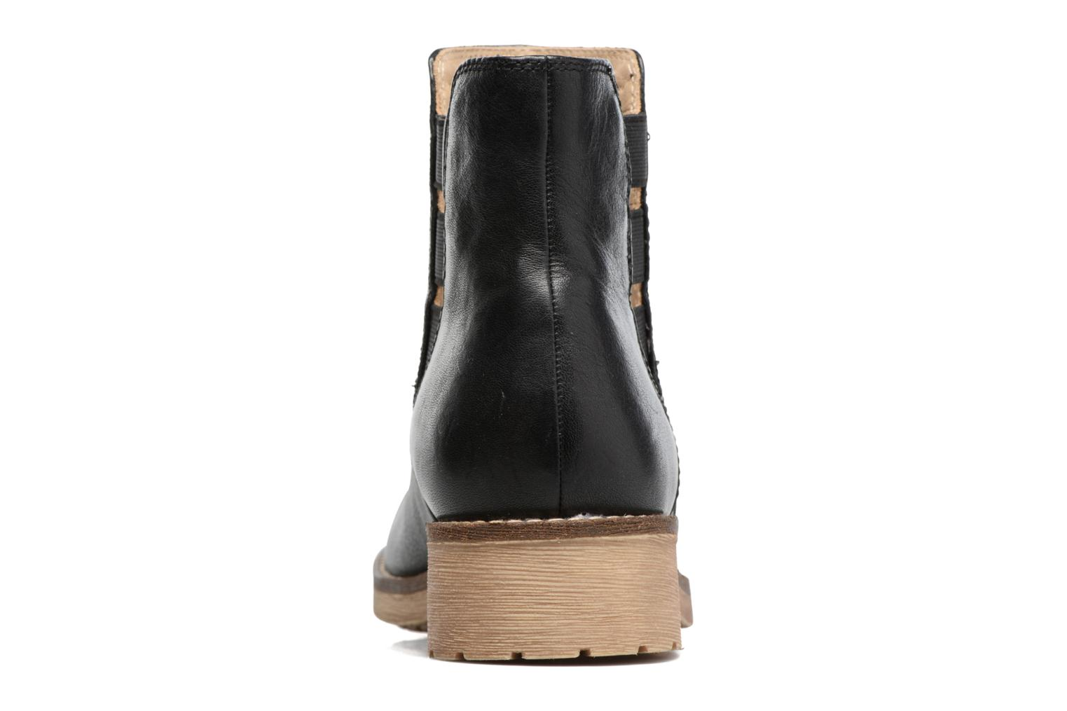 Ankle boots Geox D NEW VIRNA D Black view from the right