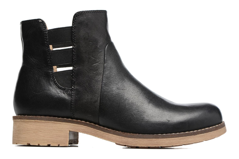Boots en enkellaarsjes Geox D NEW VIRNA D Zwart achterkant