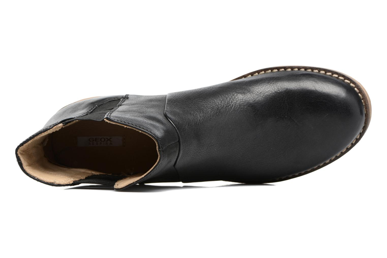 Ankle boots Geox D NEW VIRNA D Black view from the left