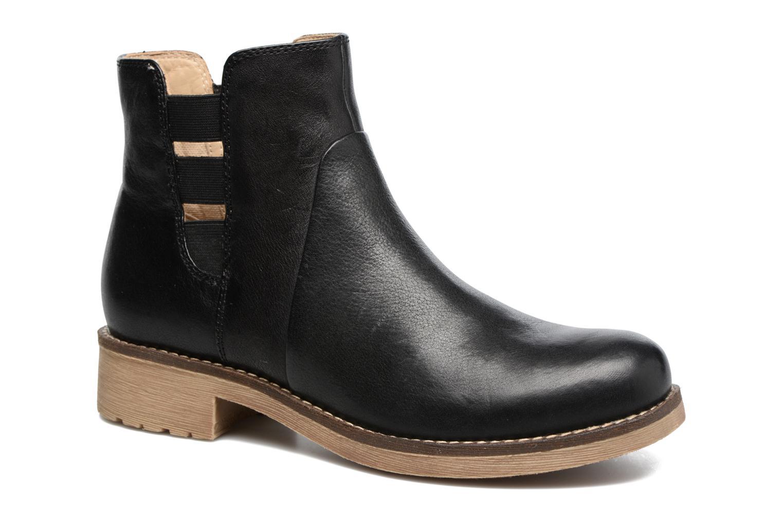 Bottines et boots Geox D NEW VIRNA D Noir vue détail/paire