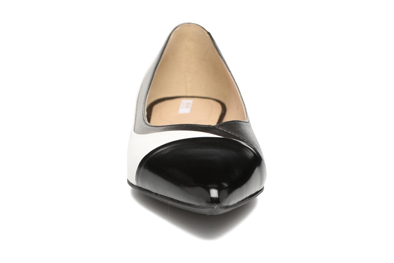 Ballerines Geox D RHOSYN C Noir vue portées chaussures