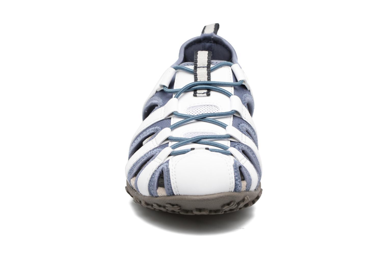 Sandales et nu-pieds Geox DONNA ART. D7125U Blanc vue portées chaussures