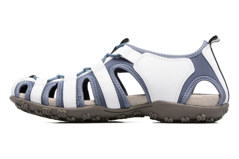 Sandales et nu-pieds Geox DONNA ART. D7125U Blanc vue face