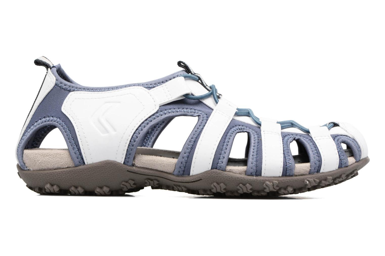 Sandales et nu-pieds Geox DONNA ART. D7125U Blanc vue derrière
