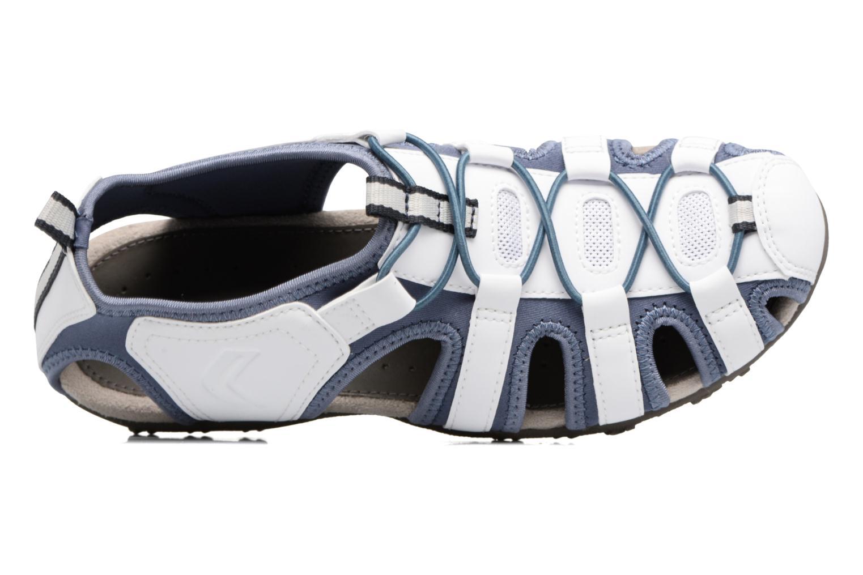 Sandales et nu-pieds Geox DONNA ART. D7125U Blanc vue gauche