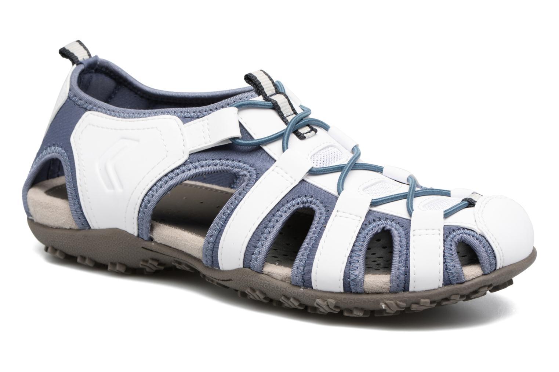 Sandales et nu-pieds Geox DONNA ART. D7125U Blanc vue détail/paire