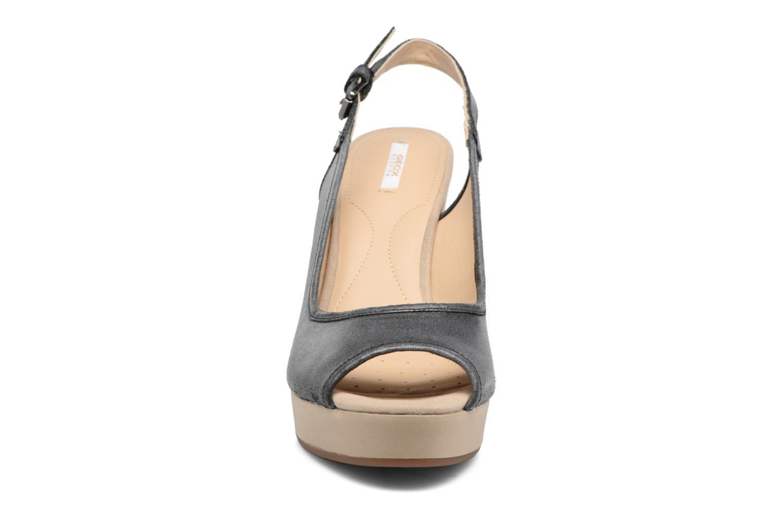 Sandales et nu-pieds Geox DONNA JANIRA G Noir vue portées chaussures