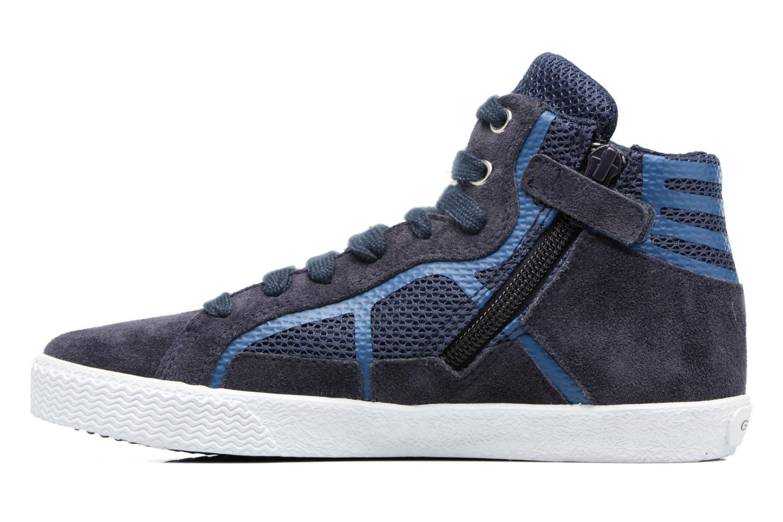 Sneakers Geox J SMART BOY C Azzurro immagine frontale
