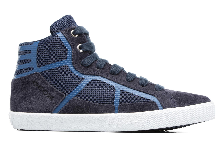 Sneakers Geox J SMART BOY C Blauw achterkant