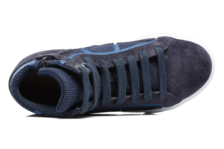 Sneakers Geox J SMART BOY C Azzurro immagine sinistra