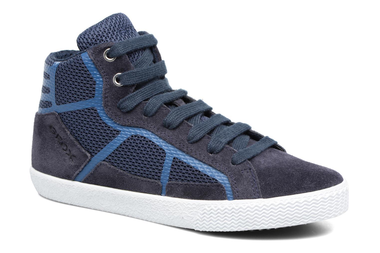Baskets Geox J SMART BOY C Bleu vue détail/paire