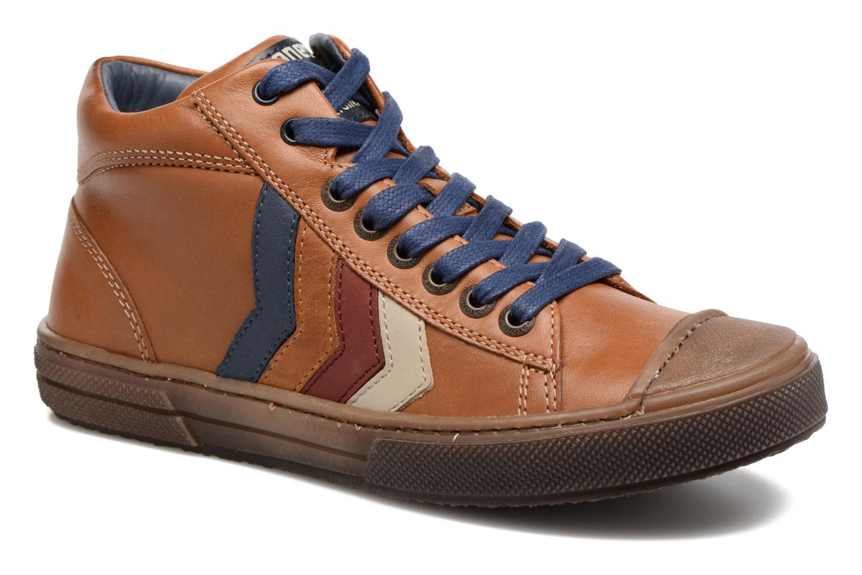 Sneakers Stones and Bones Rosto Brun detaljeret billede af skoene