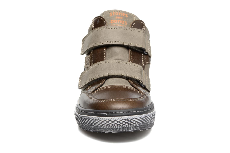 Baskets Stones and Bones Drevedry Gris vue portées chaussures