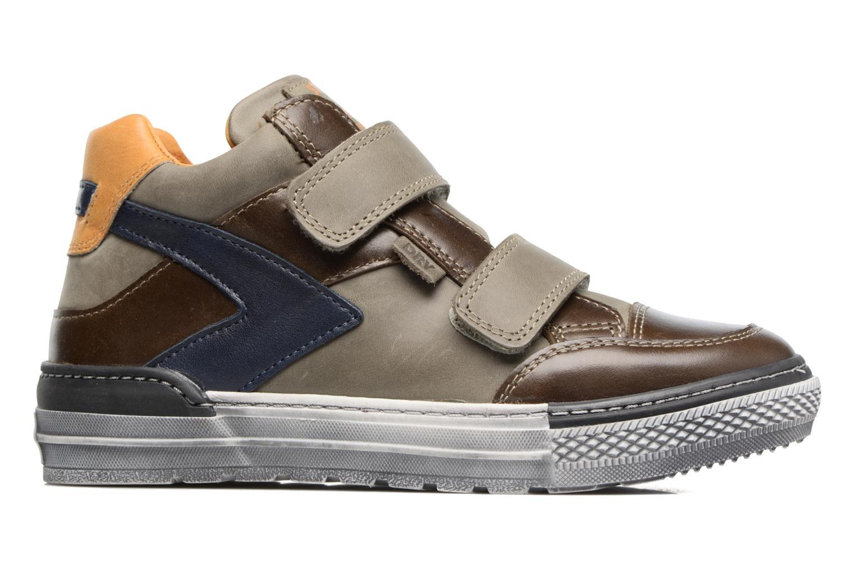 Sneakers Stones and Bones Drevedry Grijs achterkant