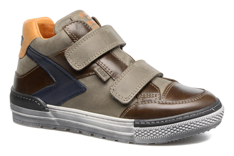 Sneakers Stones and Bones Drevedry Grijs detail