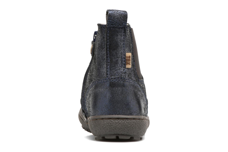 Bottines et boots Bisgaard Aurelia Bleu vue droite