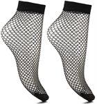 Sokken en panty's Accessoires Lot de 2 chaussettes Résilles Femme