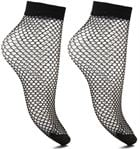 Lot de 2 chaussettes Résilles Femme