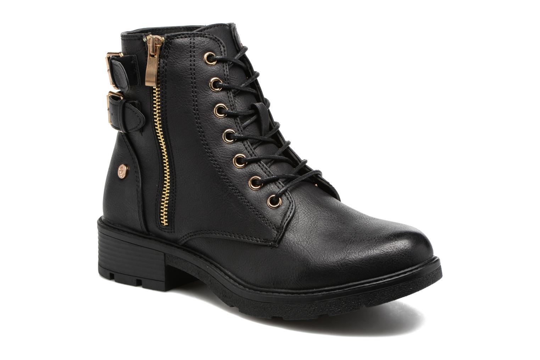 Bottines et boots Xti Woha Noir vue détail/paire