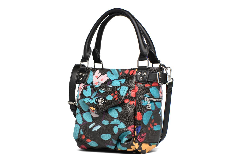 Borse Desigual Mcbee Mini Misha Handbag Nero modello indossato
