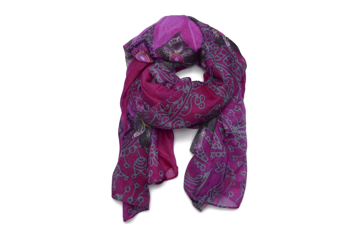 Divers Desigual Foulard Rectancle Bollywood Rose vue détail/paire