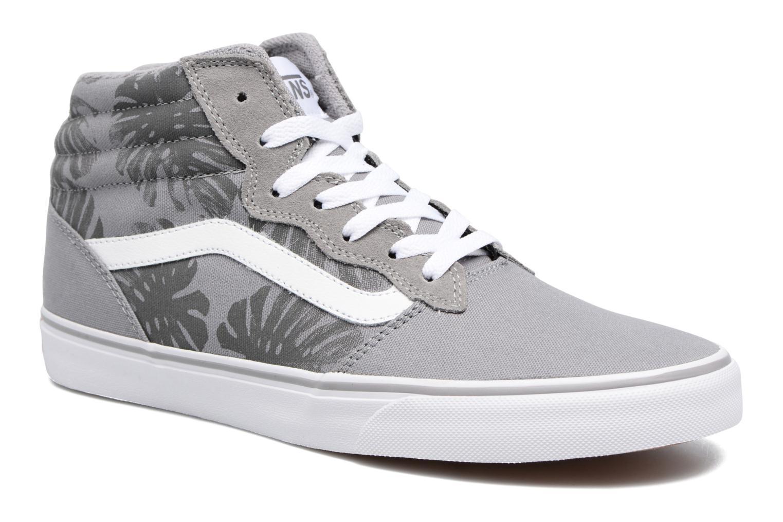 Milton Hi (Palm Leaf) Gray/White