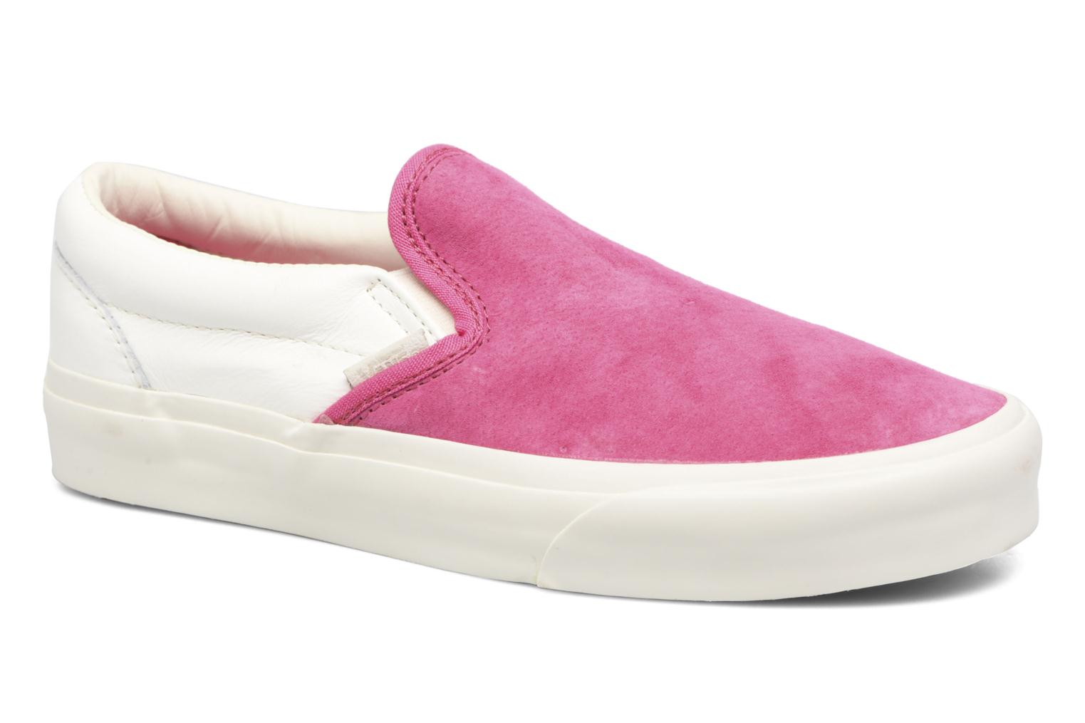 Vans Classic Slip-On CA (Rose) - Baskets chez Sarenza (299505)