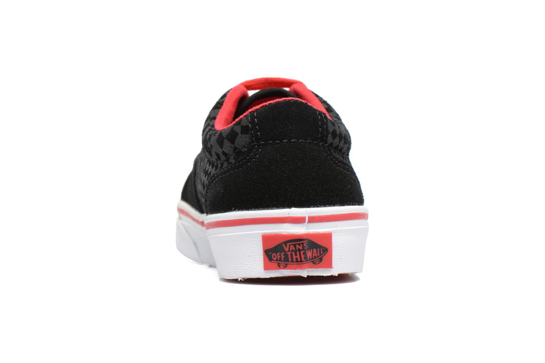 Baskets Vans Kress K Noir vue droite
