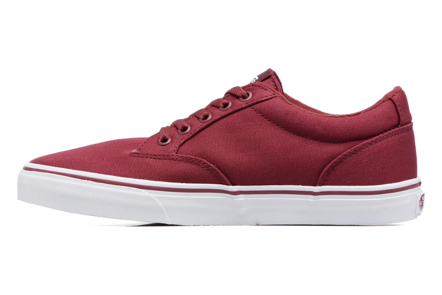 Baskets Vans Winston Bordeaux vue face