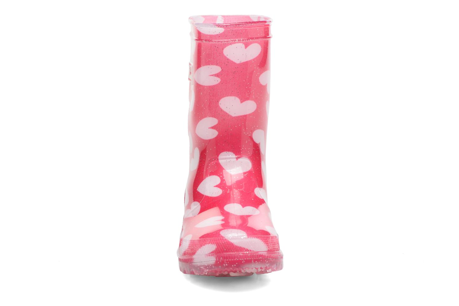 Bottes Be Only Lovely Flash Rose vue portées chaussures