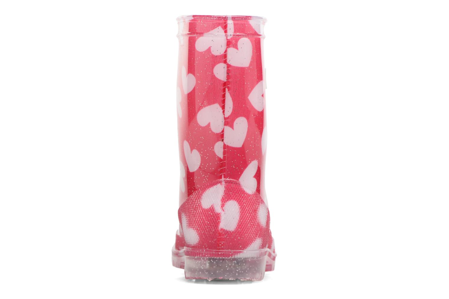 Bottes Be Only Lovely Flash Rose vue droite