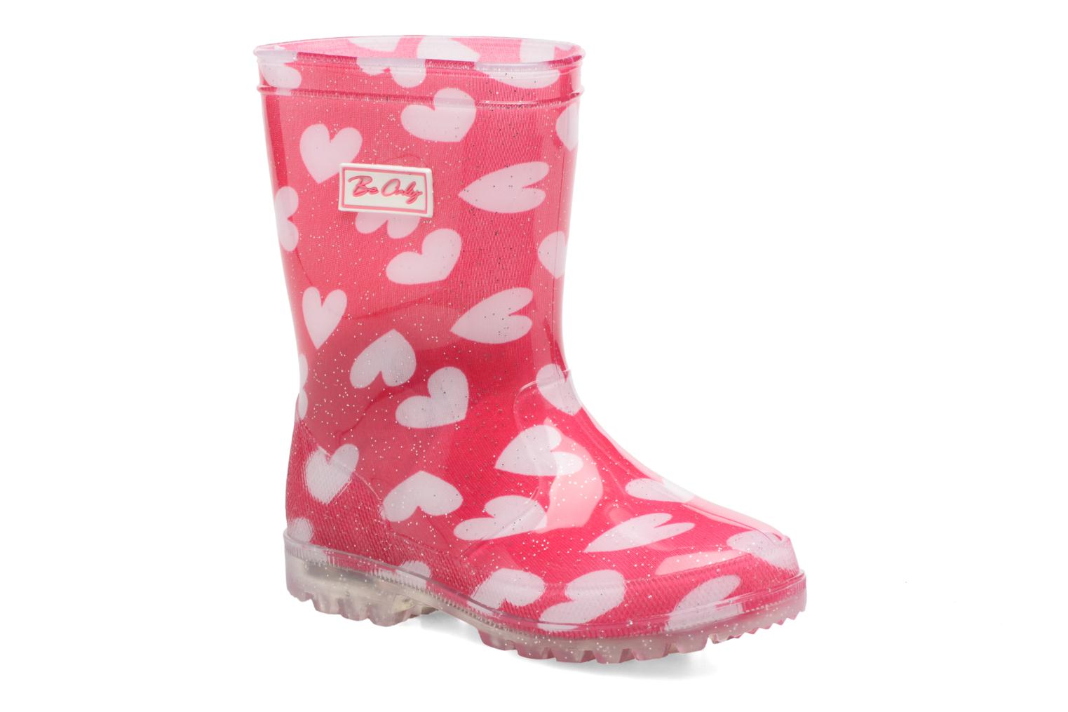 Bottes Be Only Lovely Flash Rose vue détail/paire