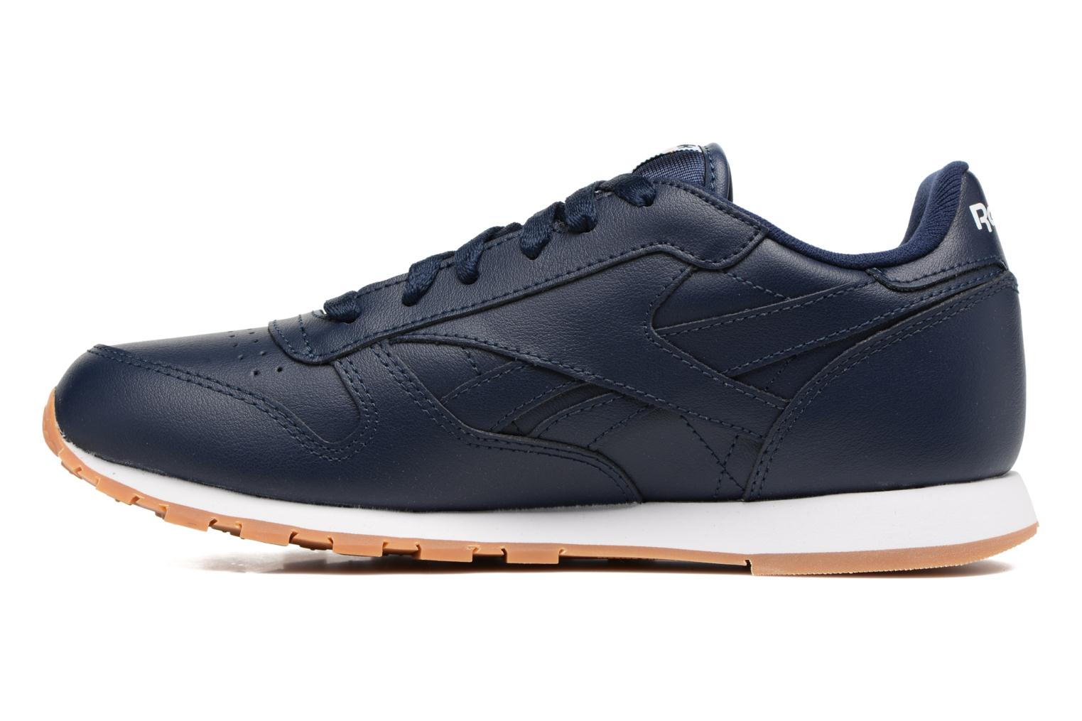Classic Leather Gum Collegiate Navy/Gum