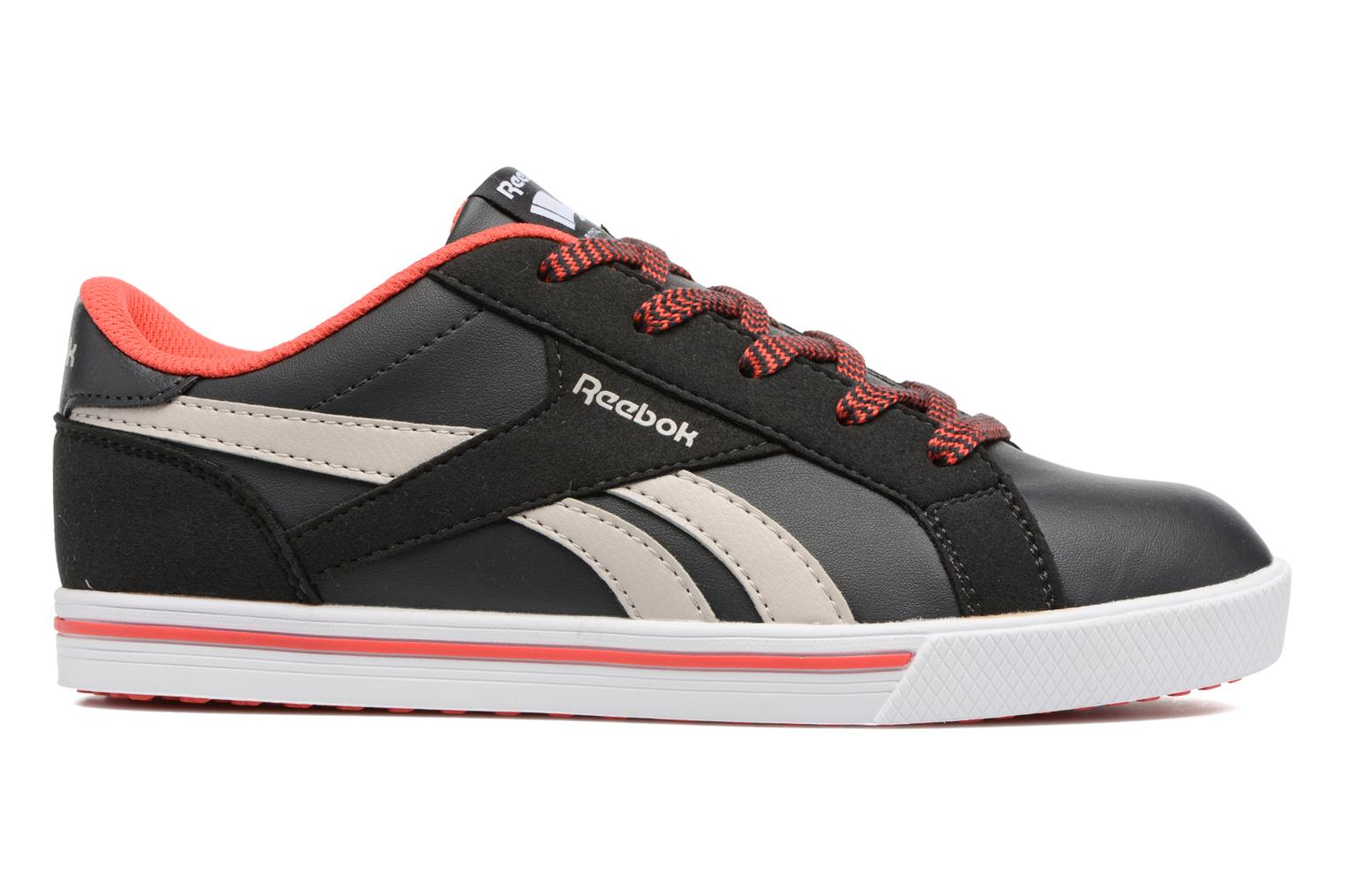 Reebok Royal Comp 2Ls Coal/Sand Stone/Dayglow Red
