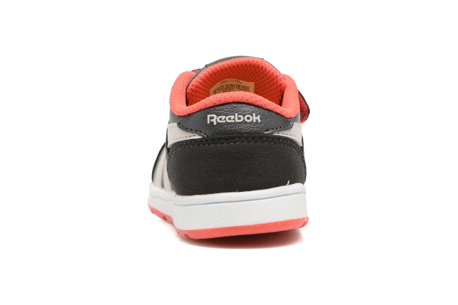 Coal/Sand Stone/Dayglow Red Reebok Reebok Royal Comp 2Ls 2V (Noir)