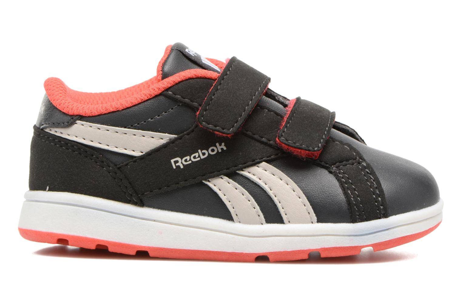 Reebok Royal Comp 2Ls  2V Coal/Sand Stone/Dayglow Red