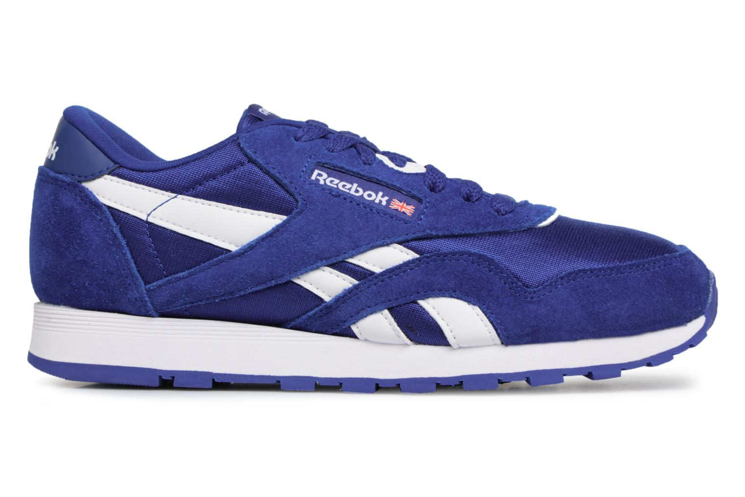 Collegiate Royal/White Reebok Cl Nylon J (Bleu)