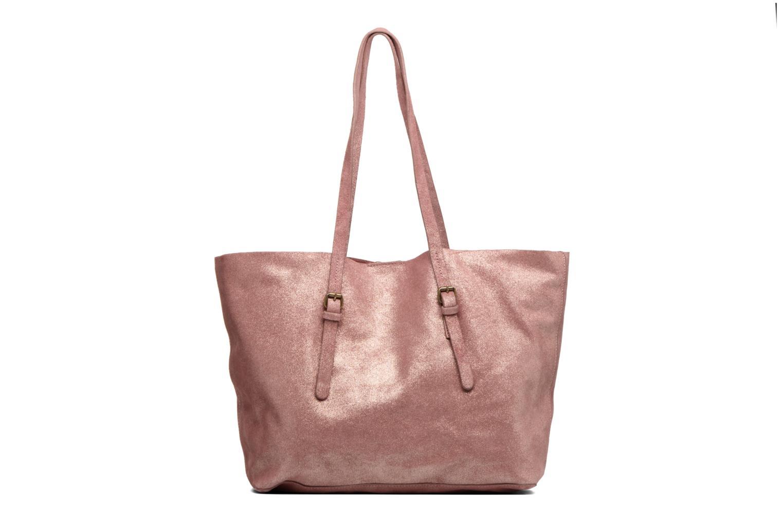 Venus Leather Shopper Dark Red