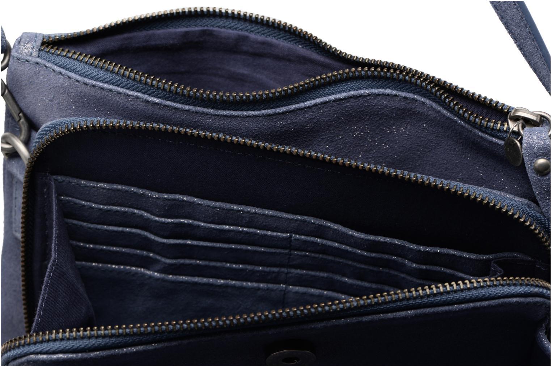 Sacs à main Esprit Venus Leather Shoulder bag Bleu vue derrière